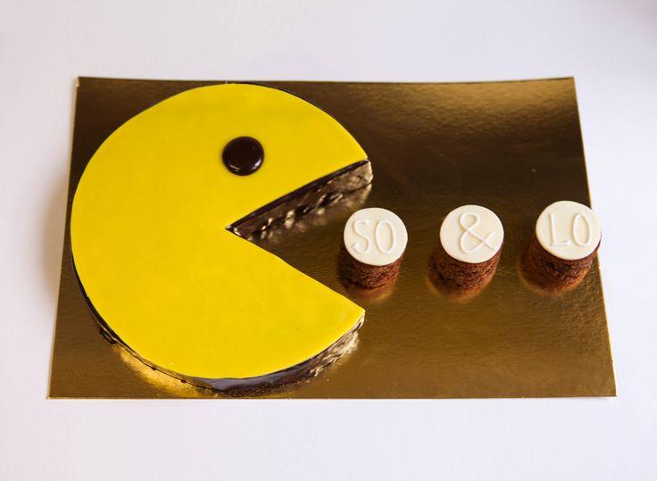 Gâteau Pacman • • Boutique atelier 7 rue Liancourt – Paris 14ème – 01 40 47 03 51 • ouvert du mardi au samedi de 10 heures à 19 heures