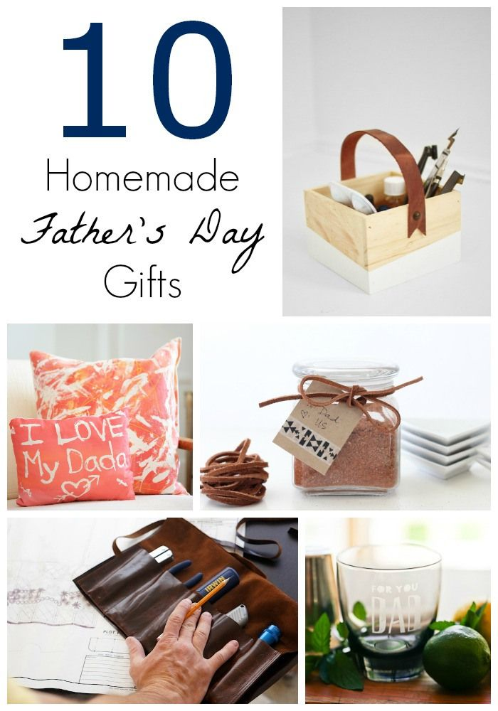 10 Homemade Father's Day Gifts | www.livingbettertogether.com