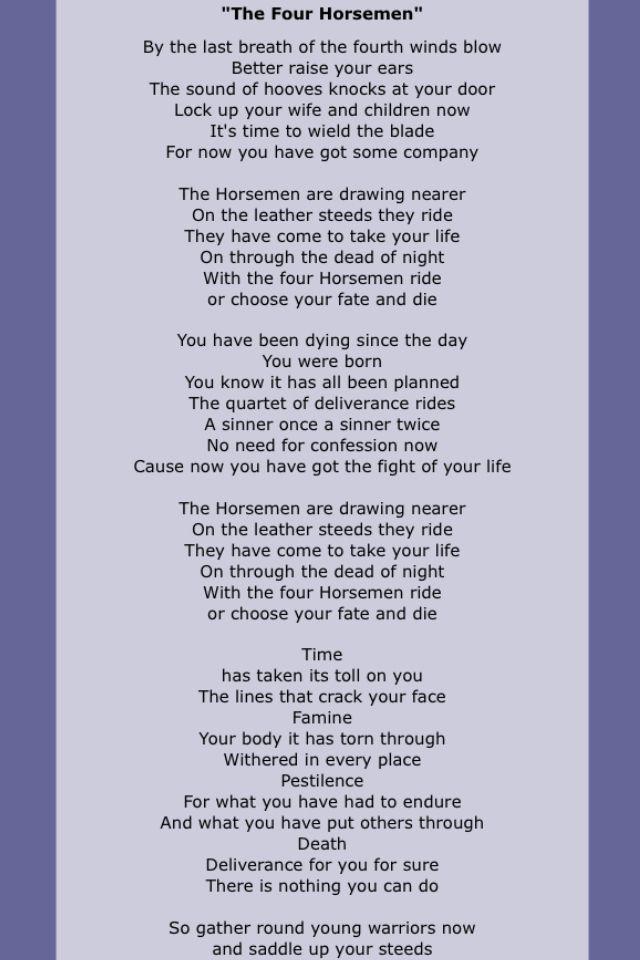Lyric day n night lyrics : 34 best Rock-N-Roll Lyrics images on Pinterest | Lyrics, Music ...