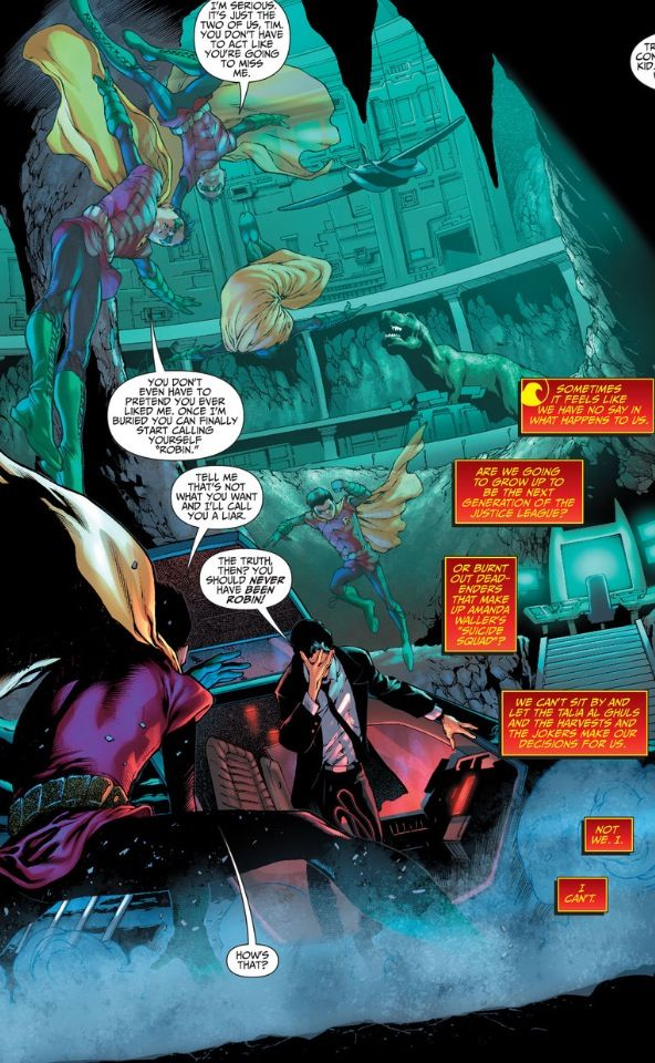 Tim Drake Vs Damien Wayne New 52