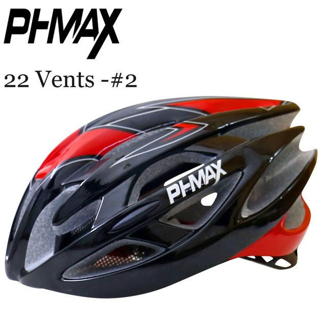 PHMAX 2016 Cycling Helmet With Insect Net Cycle Helmet In-mold 22 Vents Bicycle Helmet Ultralight MTB Bike Helmet Casco Ciclismo