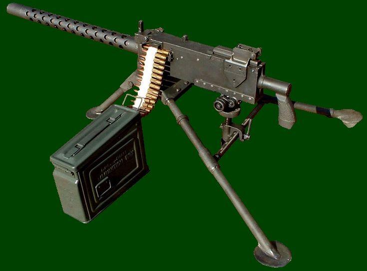 SADF.info Browning - .30 calibre (7.62mm) belt fed Light Machine Gun mounted on tripod