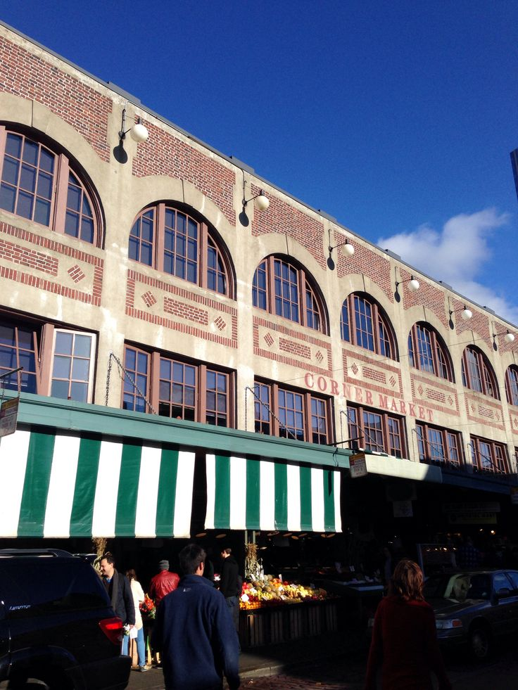 Pike Place Market Seattle 12 best Architecture