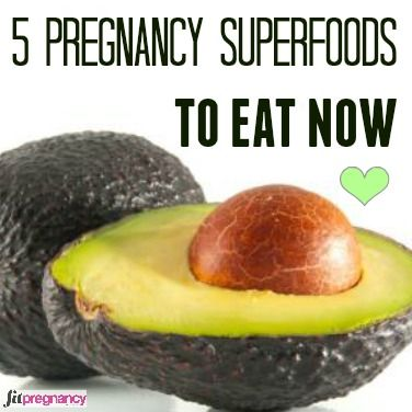 Avocados, spinach and chia seeds are some of the best superfoods to eat during pregnancy, so your body gets the nutrition it needs. Here's to your prenatal heath!