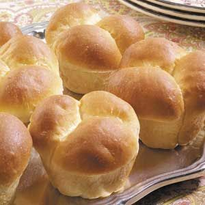 Mother's Rolls Recipe from Taste of Home - the perfect dinner roll