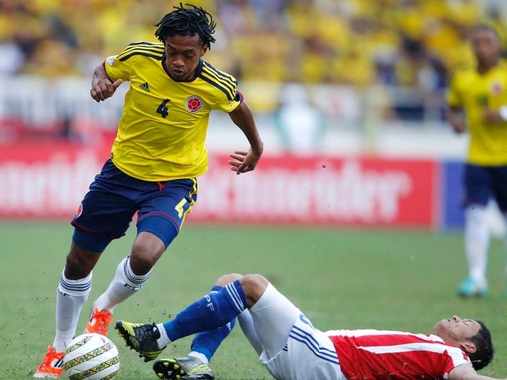 CUADRADO, Juan Guillermo | Midfield | Fiorentina (ITA) | @Juangcuadrado | Click on photo to view skills
