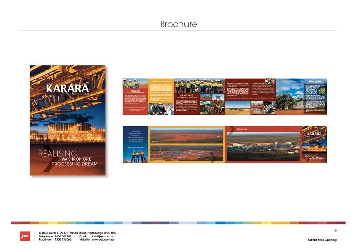 Karara Mine - take home brochure