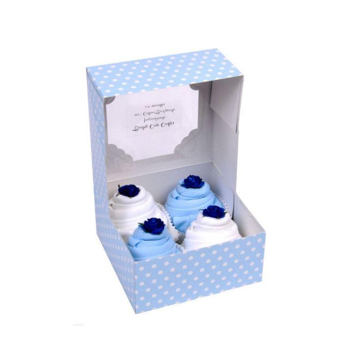 Κουτί Δώρου BABY CUPCAKES - Φορμάκια