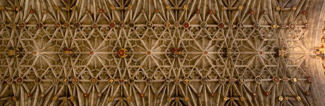 St Georges College Ceiling - Windsor castle