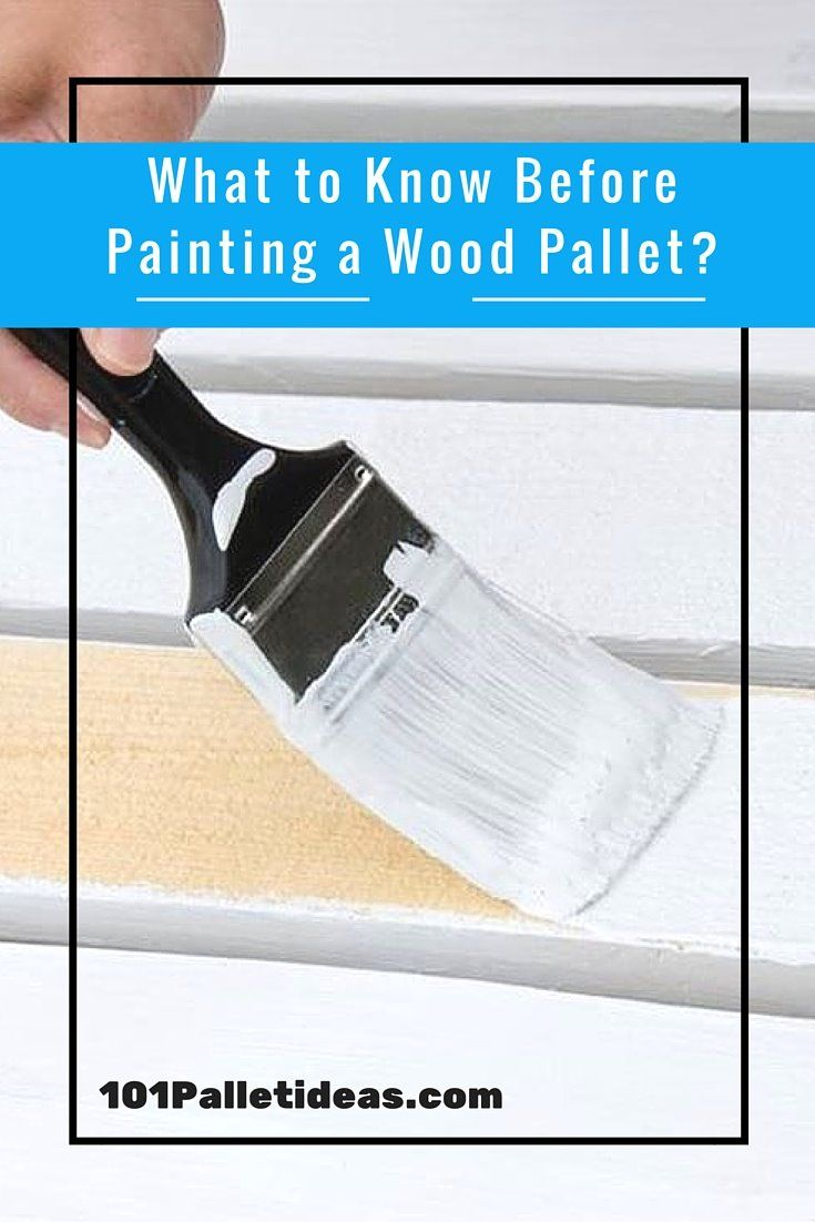 How to Paint the #Pallet #Wood? | 101 Pallet Ideas