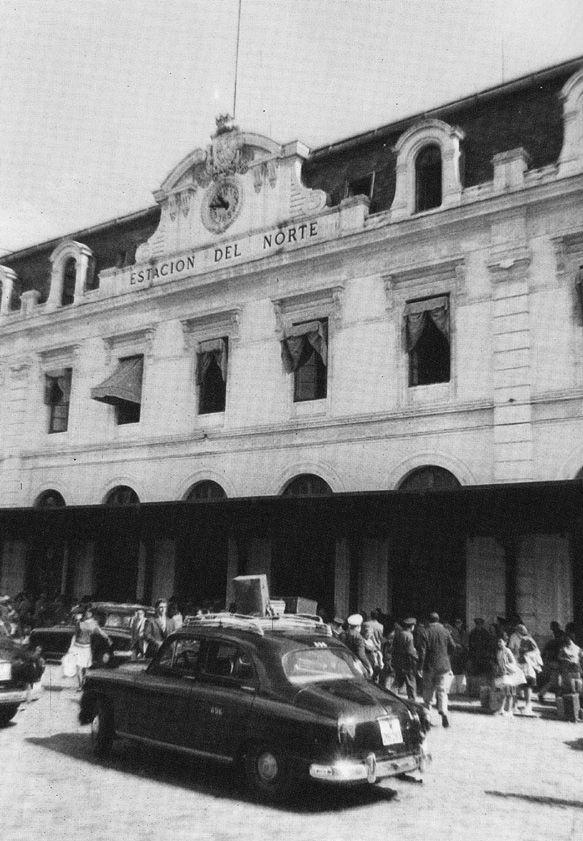 Estación del Norte. 1963. Madrid