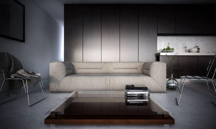 3d image, living room