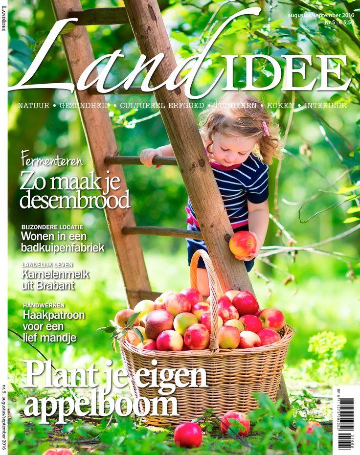 Cover LandIdee augustus-september 2016 #magazine #Holland #LandIdee