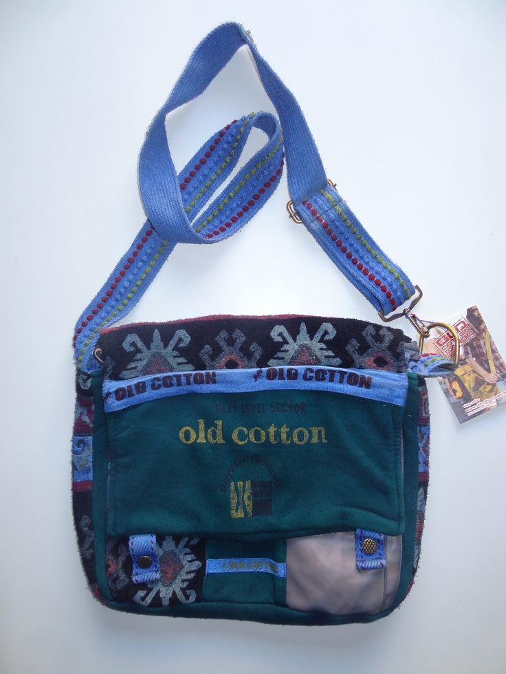 Old Cotton Cargo Bag - BAG#13 (59,- €)