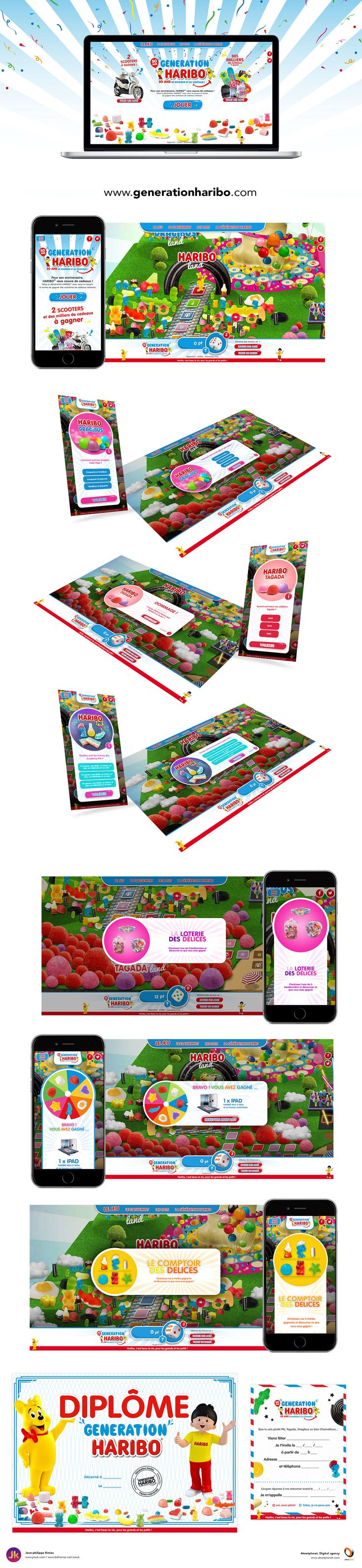 Grand jeu Génération Haribo 2017