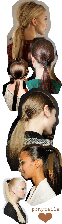 Best ponytails - by Saara Sarvas | Lily