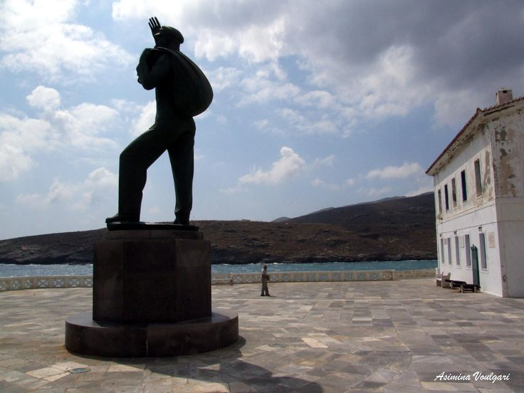 Photograph Andros, the Riva square by Asimina   Voulgari  on 500px