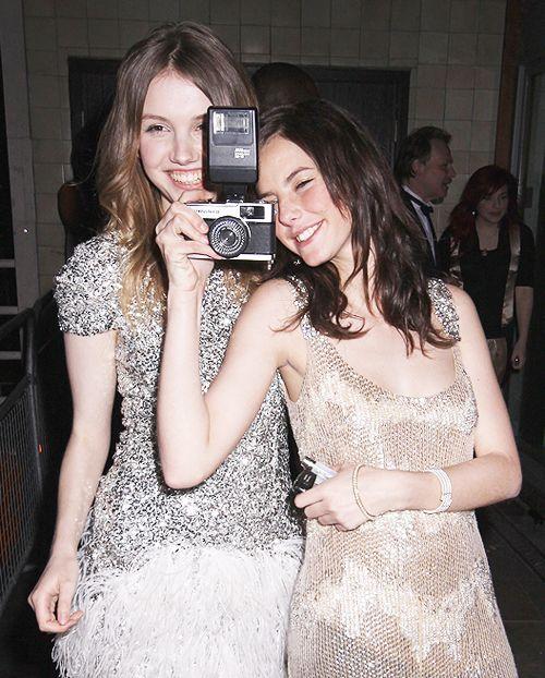Hannah Murray and Kaya Scodelario  <3