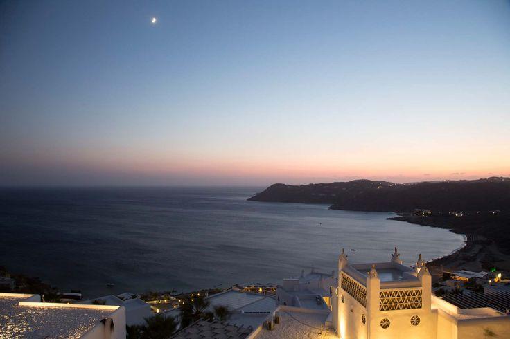 One of the world's hottest vacation spots! #Experience #Mykonos #Greece #Night #MyconianUtopia