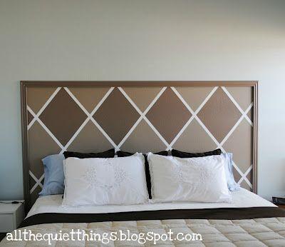 Best 25+ Painted headboards ideas on Pinterest   Paint headboard, Painting  headboard and Grey bed frame