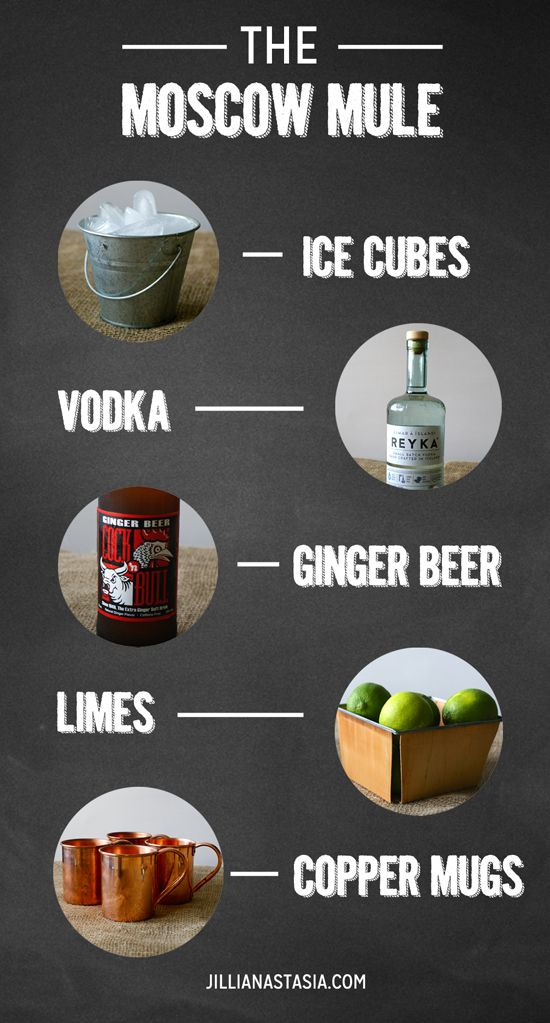 The Moscow Mule | http://theanastasiaco.com/moscow-mule/