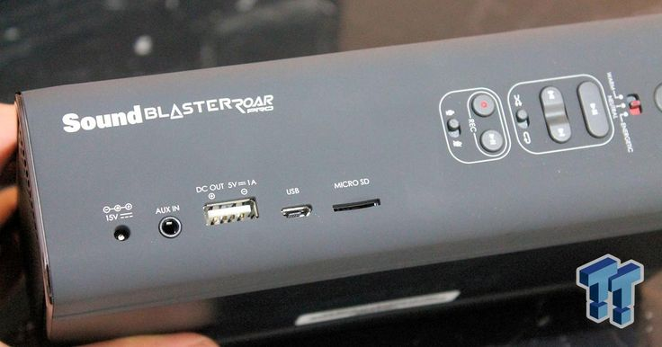 Creative Sound Blaster Roar Pro Bluetooth Portable Speaker Review