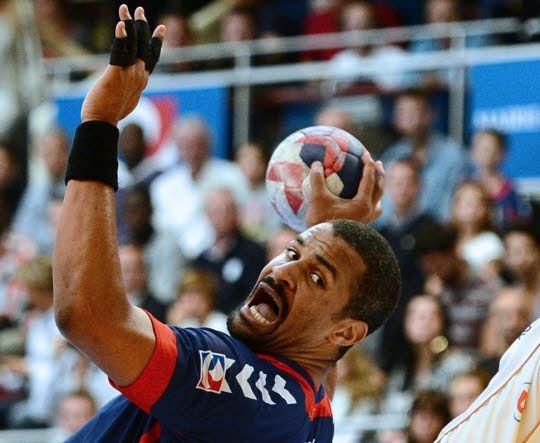 Didier Dinart - joueur de handball.  From Guadeloupe.   L'un des joueurs les plus titrés de la planète handball.
