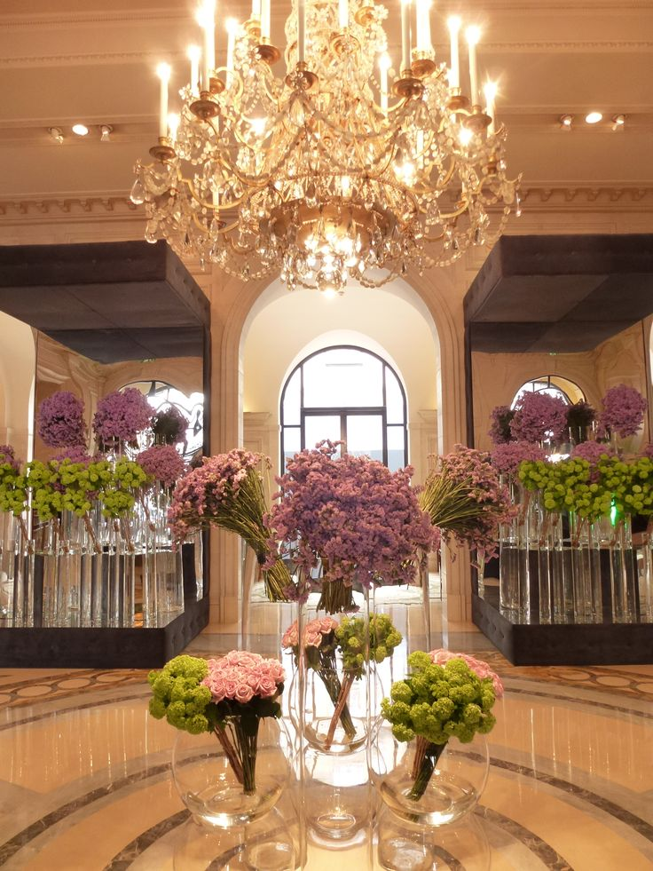 Most beautiful lobby, George V Paris