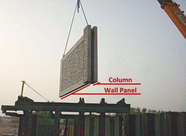 AFTEC Concrete Fence Mold process