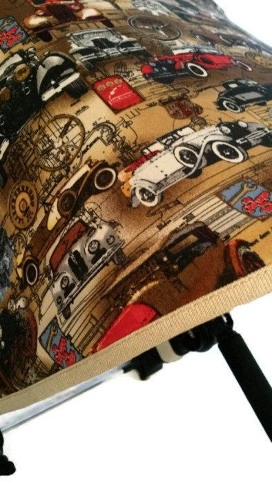 Boys cars canopy for Bugaboo Cameleon.  Outside fabric - cotton. Inside fabric - cotton + polyester.  Ready to ship.