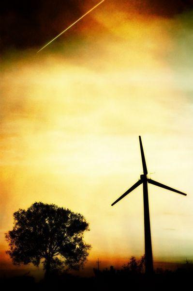 Landscape with Windmills - Photo Gallery Slawek Brodzicki at slawekbrodzicki.com