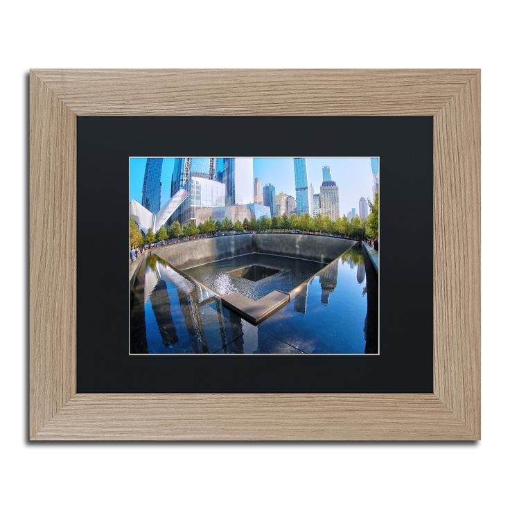 CATeyes '911 Memorial' Matted Framed Art