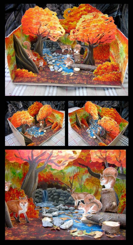 Kids Diorama With Details: Art For Kids, Diorama