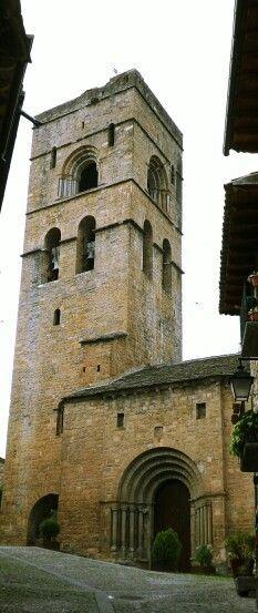 Colegiata de Santa María,  Aínsa. Huesca.