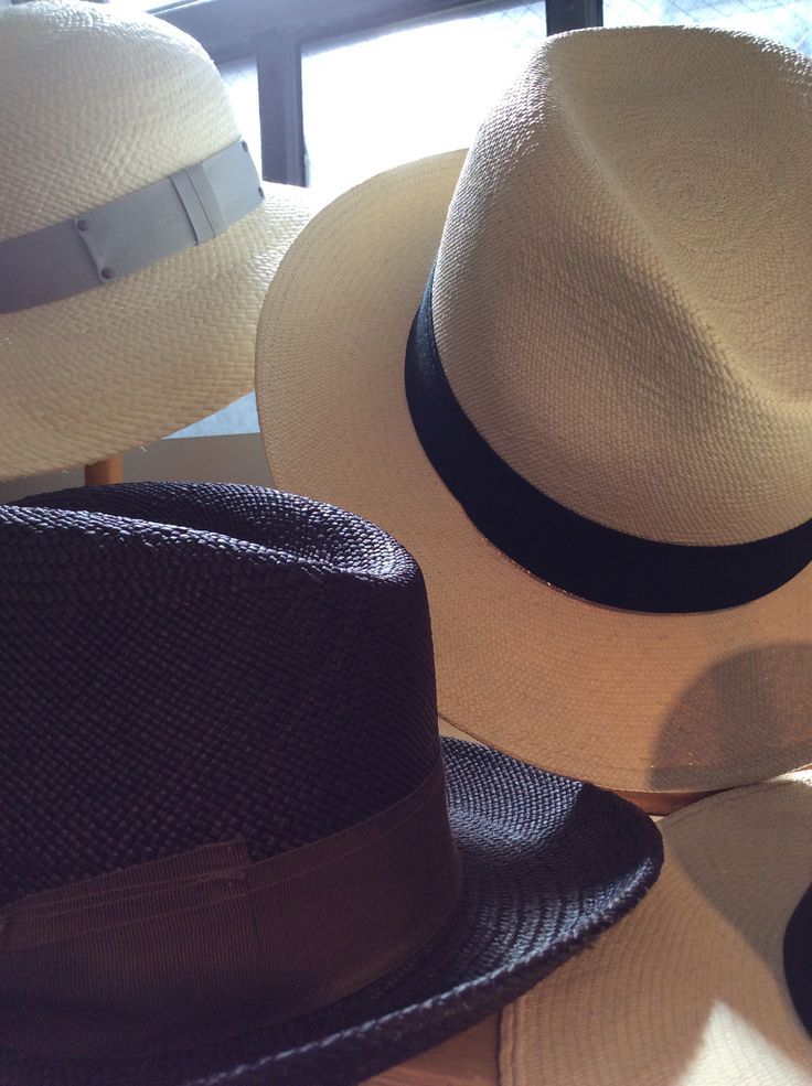 Gingi panama hats in different material and prices