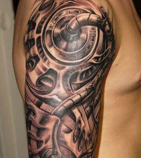 татуировки биомеханика