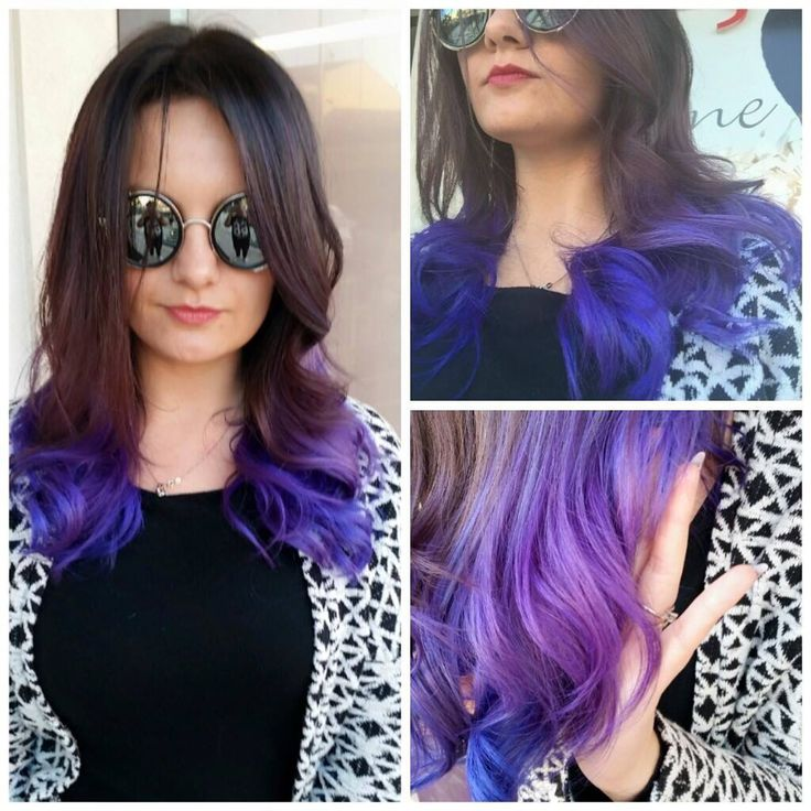 #purple #crazy #color #forverynormalwoman