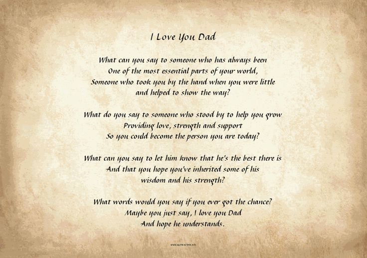 fathers day poems about tools