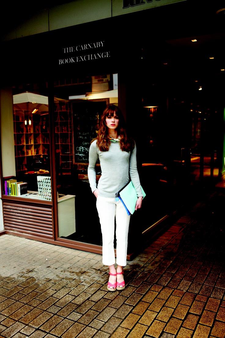 John Smedley Spring / Summer 2013 Collection.#knitwear #madeingreatbritain #ss13 #johnsmedleysseaislandcotton