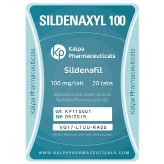 Sildenaxyl (Sildenafil 100mg) 20 tabs by Kalpa Pharmaceuticals. #sildenafil #cialis #sildenaxyl