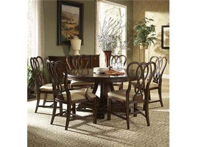 Fine Furniture Design And Mkt Dining Room Round Table Base At Hickory Mart