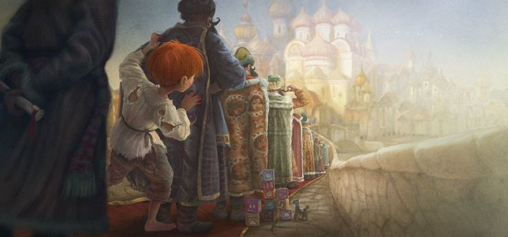 """David Laguens illustration for """"Abaskhia""""."""
