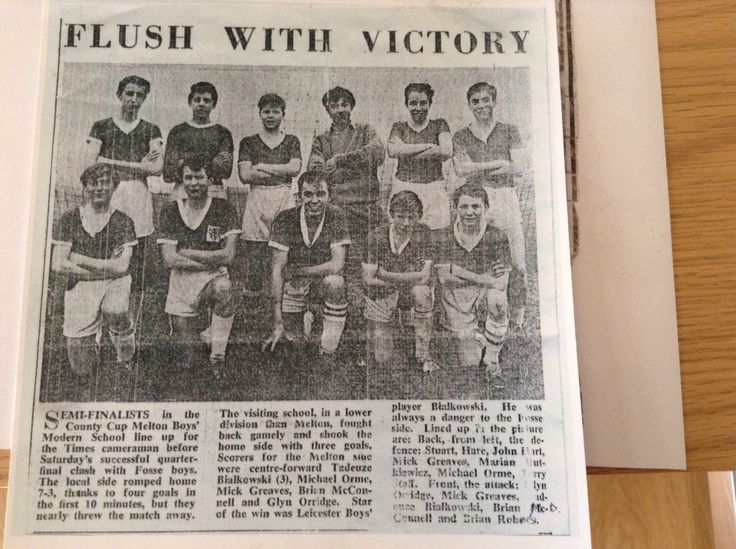 Me back row fifth from right Stuart hare sixth from the right