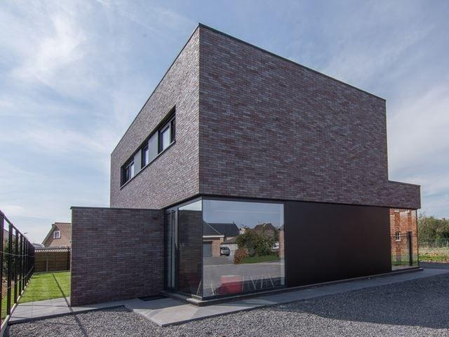 Werken en wonen: een huis met twee gezichten • Architect: www.ara-architecten.be (nieuwbouw • modern • plat dak)
