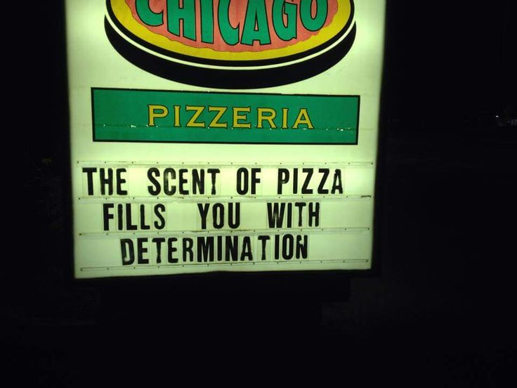 Pizza always fills me with determination. #undertale