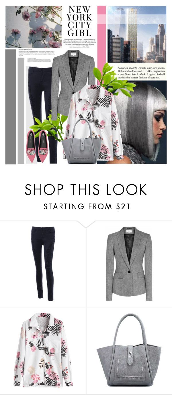 """""""Work outfit"""" by followme734 ❤ liked on Polyvore featuring Reiss, Giuseppe Zanotti, H&M, workoutfit and Joblook"""