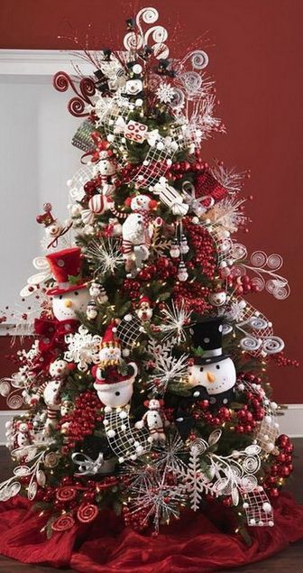 Beautiful Decorated Christmas Tree http://picturingimages.com/beautiful-decorated-christmas-tree-8/