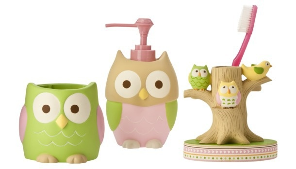 Best 25 owl bathroom set ideas on pinterest - Owl themed bathroom decor ...