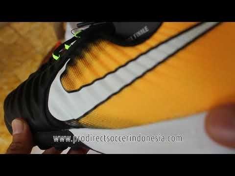 Sepatu Futsal Nike Tiempox Finale TF Black White laser Orange 897764 008...