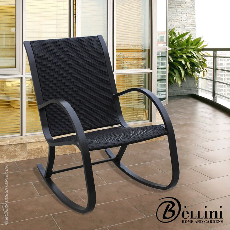 Outstanding comfort and structural integrity make the Bali #rockingchair a welcome addition to your home. Hand woven with rich multicolor brown color polyethylene wicker wrapped twice around a concealed powder coated steel frame. http://www.allmodernoutlet.com/bellini-bali-rocking-chair-W77150/